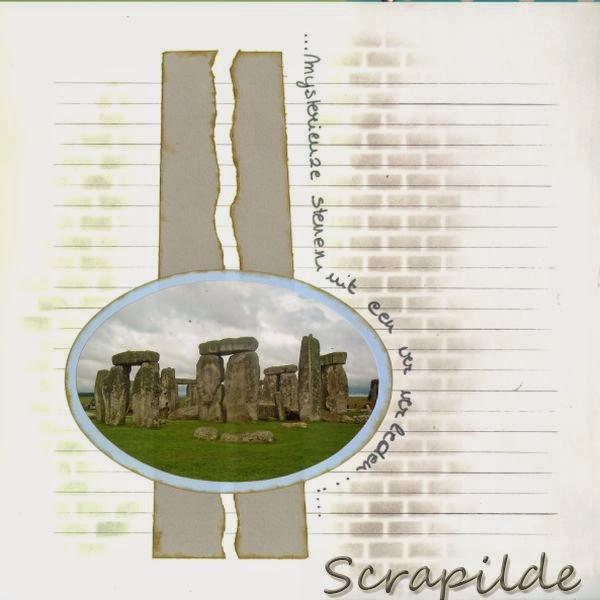 azza scrap voorbeelden stonehenge